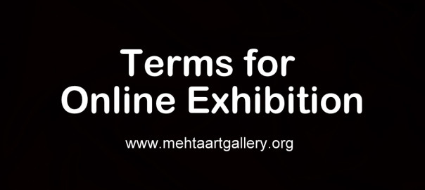 terms for online exhibition