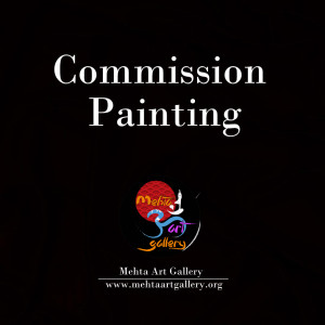 Commission Painting by mehta art gallery varanasi