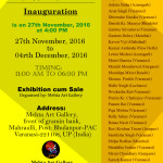 Humble Invitation: Shadow Painting Exhibition